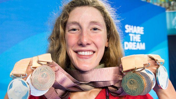 Юная канадка повторила рекорд Игр Содружества