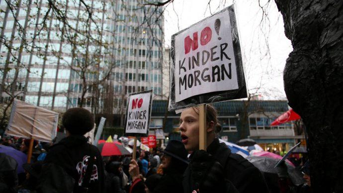 Канадское правительство финансирует протесты против проектов правительства?