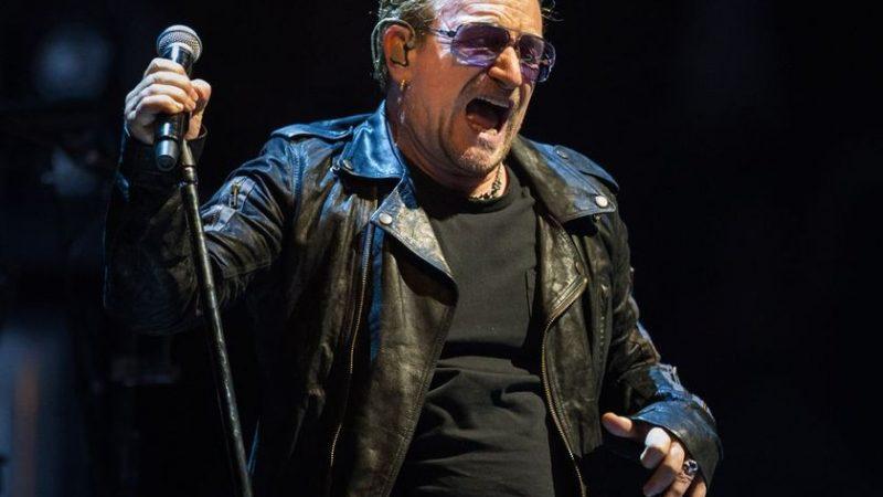 U2 реперитует в Лавале перед мировым турне