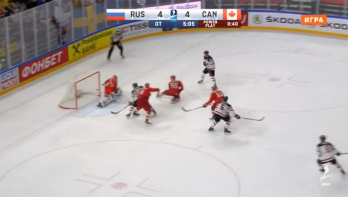 Канада— Россия: 5:4 в четвертьфинале чемпионата мира