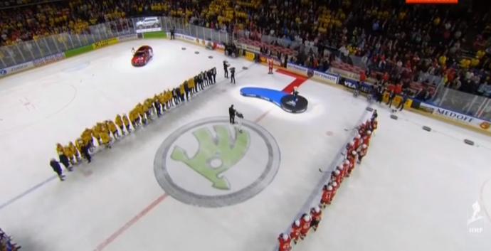 Канада— без медалей, шведы с золотом а швейцарцы— с серебром
