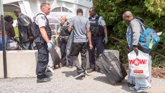 Подавляющее большинство беженцев направляется в Квебек
