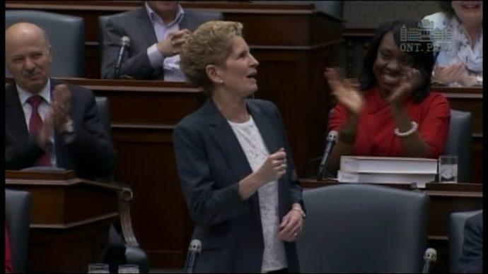 Катлин Уинн: последний парламентский спич в качестве премьера?