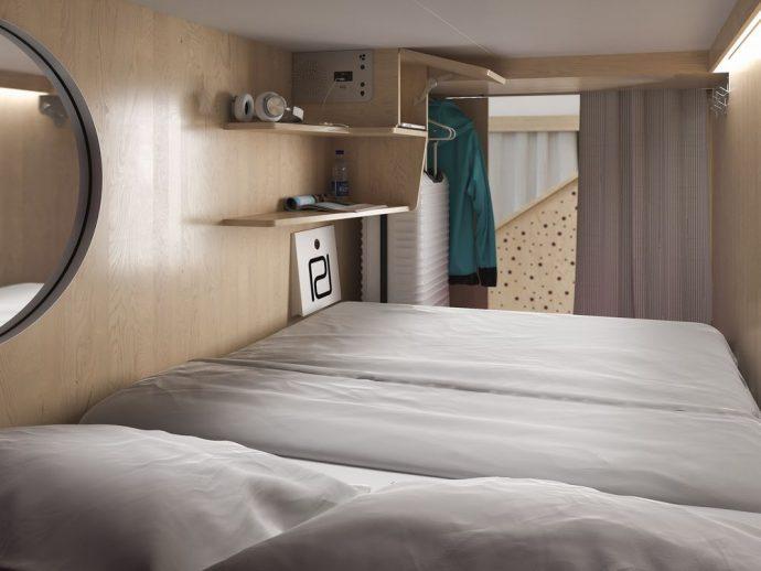 Отель-общежитие в Уистлере: ячейка за $100?