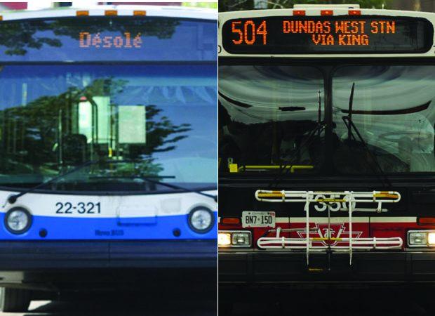 В Торонто и Монреале ожидаются перебои с транспортом