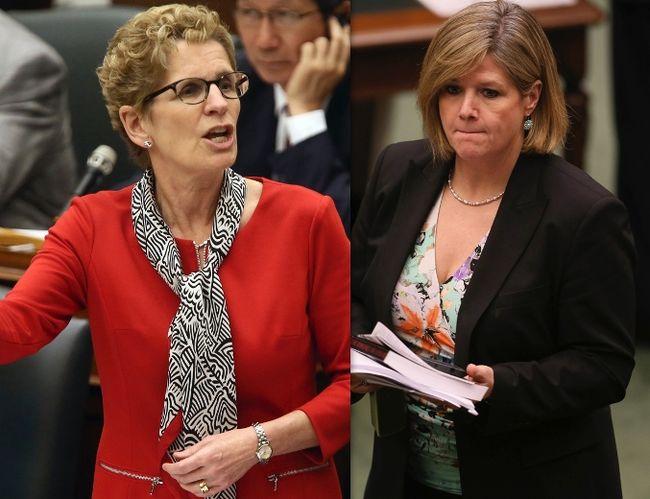 Уинн обвиняет Хорват, а NDP и либералы объединяться не хотят