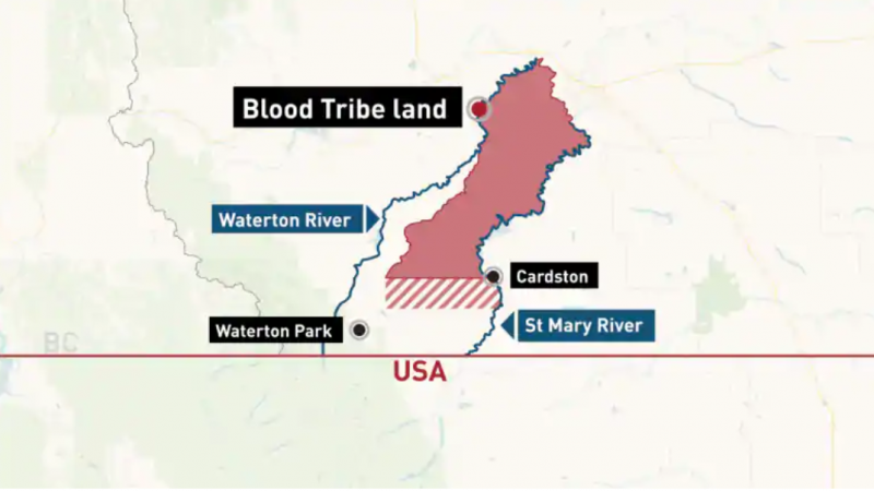 Индейцы требуют расширения территории резервации