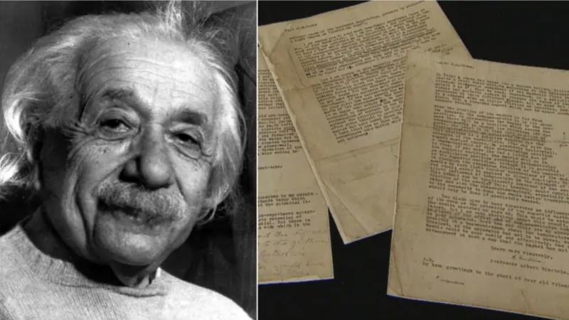В Калгари нашли письма Эйнштейна