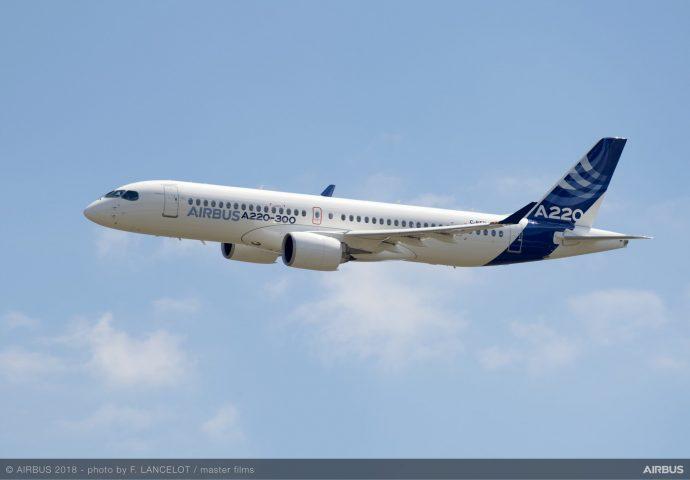 Airbus представила канадские самолеты