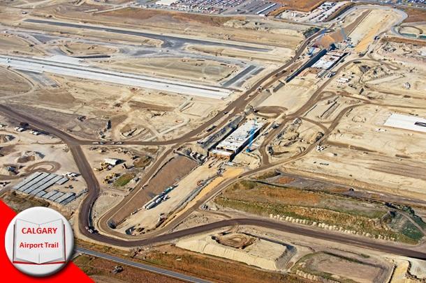 Калгари строит новую дорогу к аэропорту