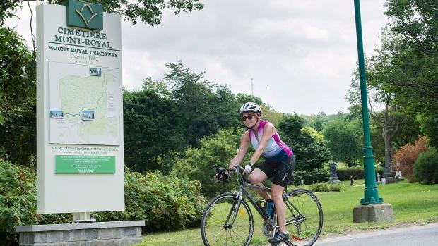 Монреальское кладбище запрещает велосипеды