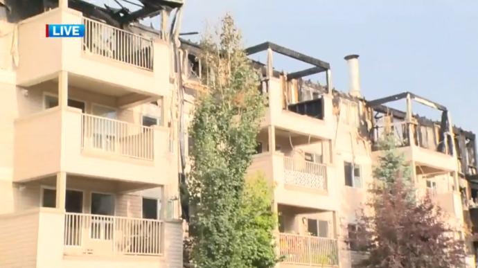 В Эдмонтоне сгорел жилой дом. Ущерб—  $14 миллионов