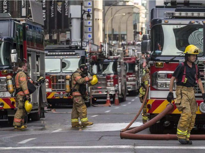 Монреальские пожары потушены. Жертв нет