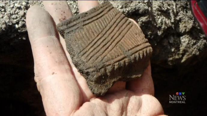 В Монреале продолжаются раскопки индейского поселения