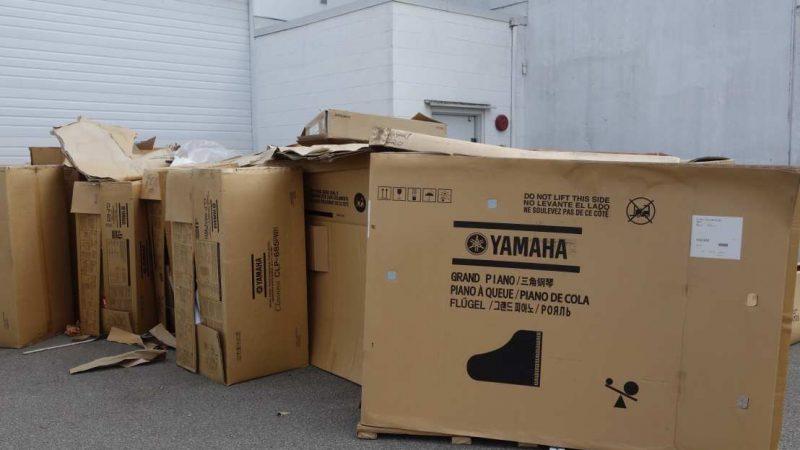 Музыкальная находка полиции на складе в Британской Колумбии