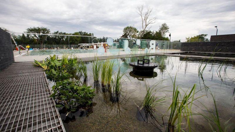 Первый в Канаде бассейн с био-фильтрацией воды