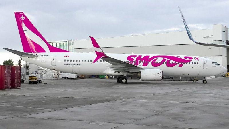 Канадский Swoop, дочка WestJet будет летать в США
