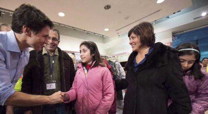 К 2020 году Канада станет чемпионом мира по приему беженцев