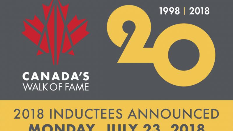 Канадская Аллея славы пополнится новыми именами