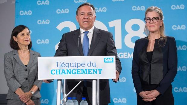 Квебекская партия выставляет больше кандидатов-женщин, чем мужчин