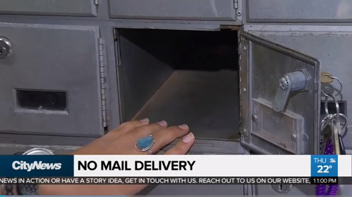 Canada Post отказалась носить почту в дом в Скарборо