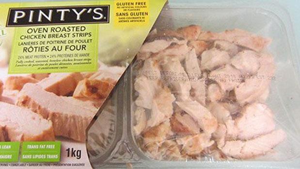 Куриный полуфабрикат отозван из продажи