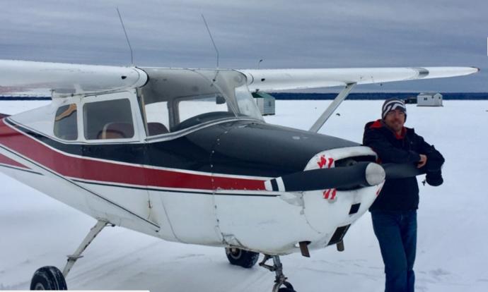 В Альберте разыскивают пропавший самолет