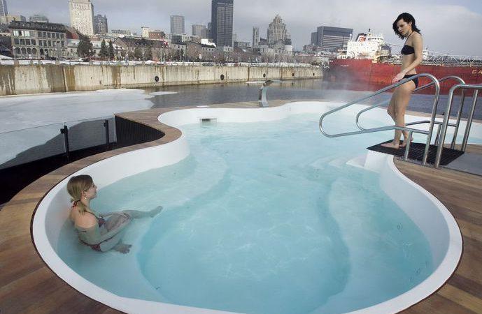 Канадский салон предлагает посмотреть фильм из бассейна