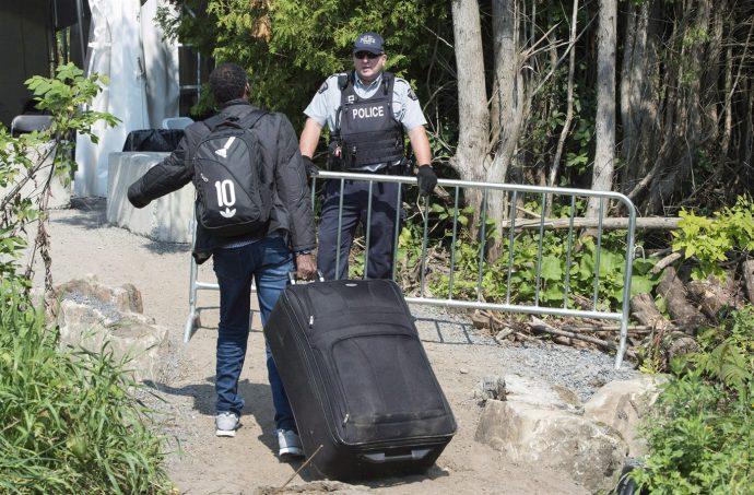 В июле нелегалов-беженцев в Канаде стало больше