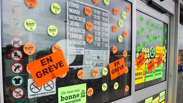 Однодневная ликеро-водочная стачка в Квебеке