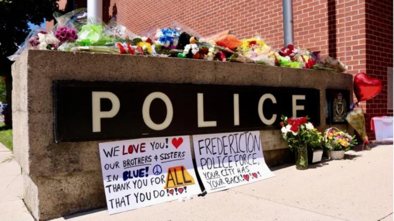 Полиция Фредериктона сообщила имена погибших офицеров