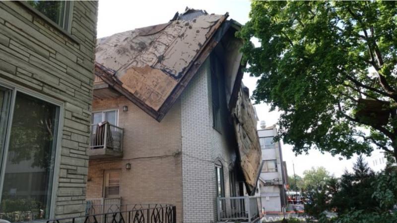 Буря в Монреале. Разрушения есть, но жертв нет
