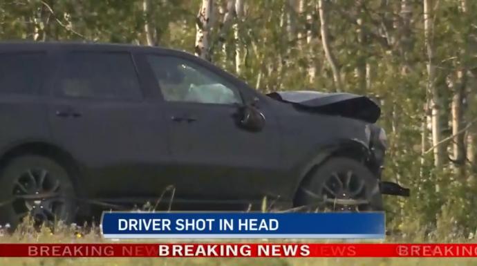 В немецкого туриста стреляли на канадском хайвее