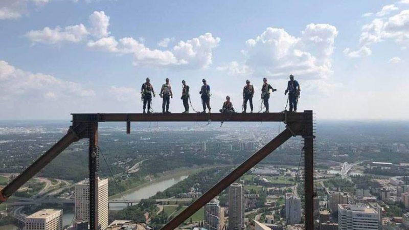«А мы монтажники-высотники»: канадский вариант