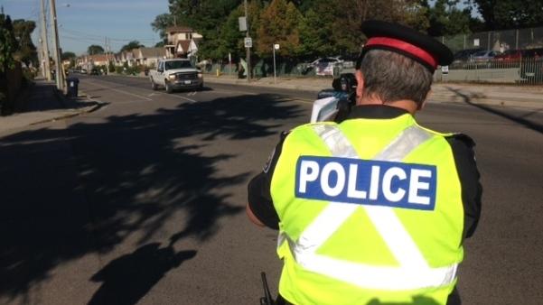 «Идиот»— канадский полисмен о превышении скорости