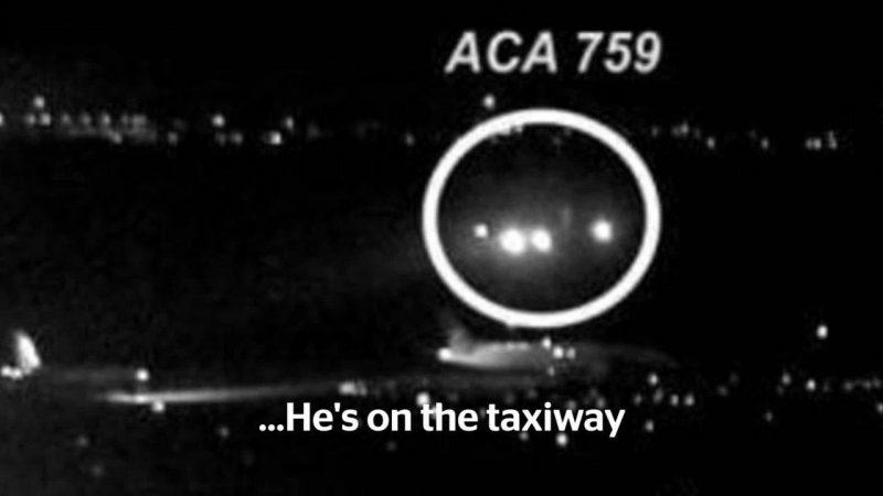Канадских пилотов обвиняют в ошибке, чуть не приведшей к катастрофе