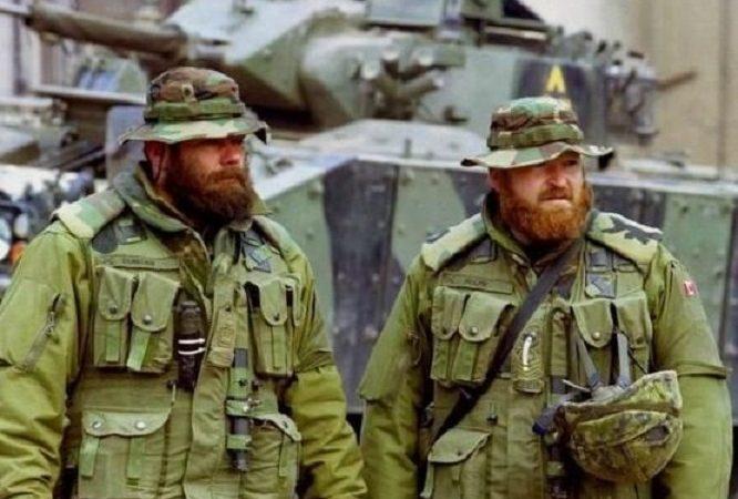 Канада допускает отныне бороды в армии