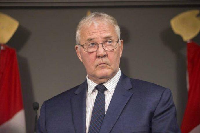 Канадский министр оговорился (в 15 раз)