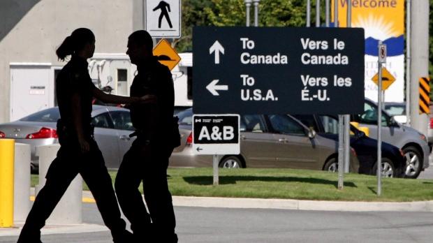GPS довел пьяную американку до канадской границы