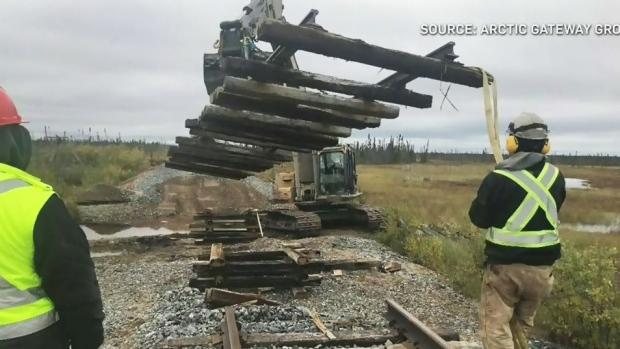 Канадские проблемы: бобры виноваты в железнодорожной аварии?
