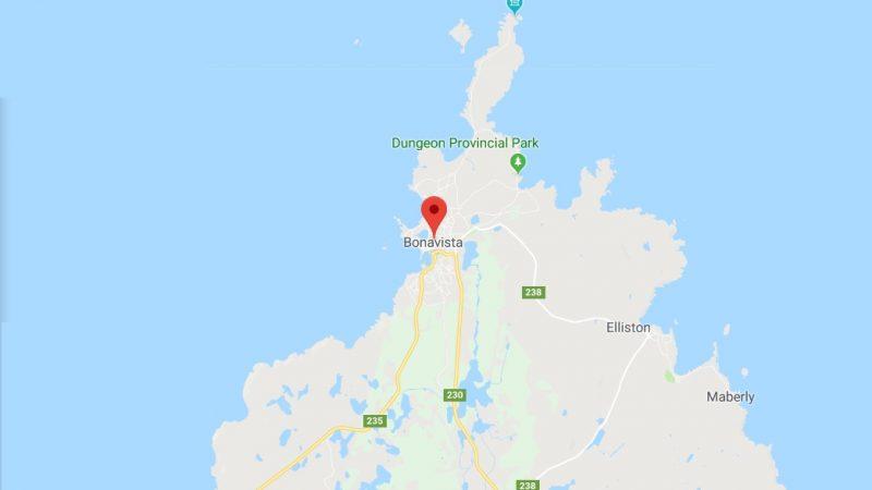 Землетрясение у Ньюфаундленда