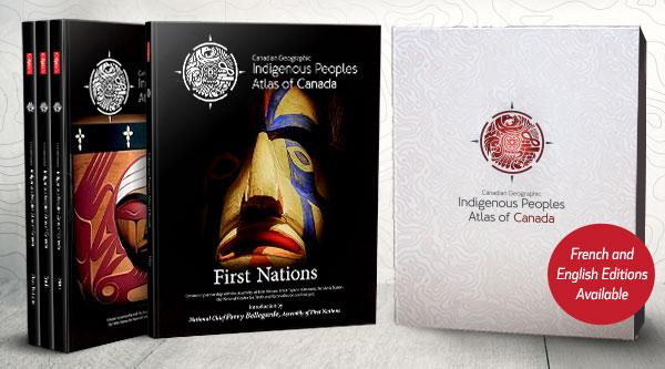 Уникальный атлас коренных народов Канады