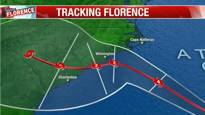 Ураган Флоренс может ударить уже сегодня