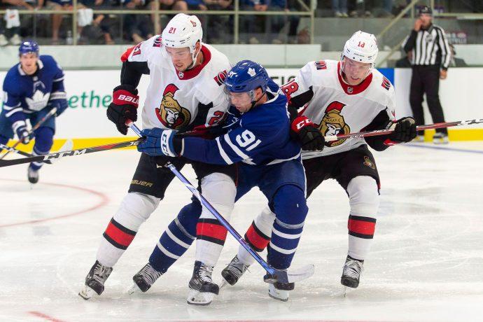 Toronto Maple Leafs: новый центр играет что надо!
