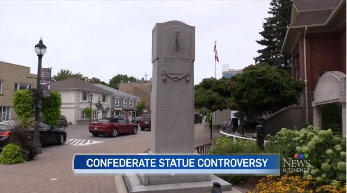 Канадский город отказался убрать исторический монумент