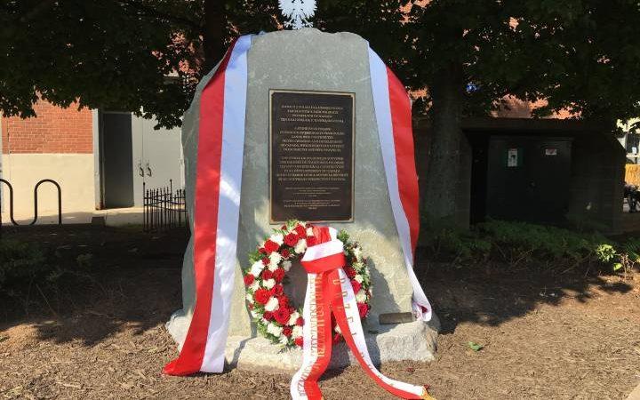В Галифаксе появился монумент в честь польских канадцев