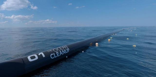 Очистка Мирового океана от пластика стартует через несколько минут