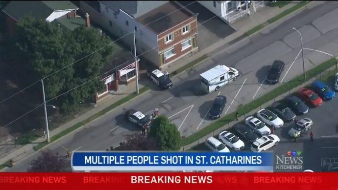 Стрельба в Сент-Катринсе: три человека ранены, двое— тяжело