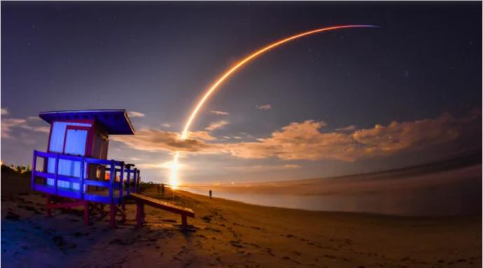 Ракета Falcon 9 вывела на орбиту канадский телекоммуникационный спутник