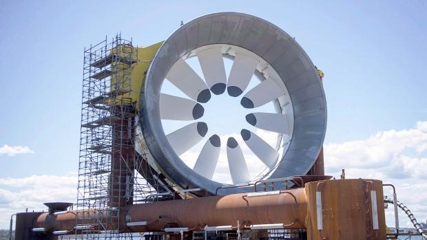Новая Шотлания дала добро на волновую электростанцию